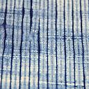 手紡ぎ木綿の絞り単衣 質感・風合