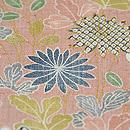 しょうざん 生紬ぼかしに四季の花図訪問着 質感・風合