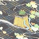 日菱文に四季の刺繍付下 質感・風合