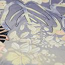 紋錦紗秋草の付下 質感・風合