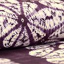 南部絞り紫根染単衣 質感・風合
