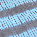 藍絞り染綿単衣 質感・風合