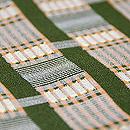 縮緬染に狆刺繍袷小紋 質感・風合