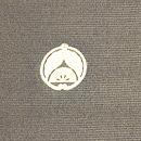 紫陽花絵羽模様三つ紋単衣羽織 背紋