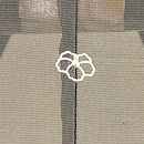 飛翔燕の図紗羽織 背紋