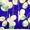 江戸紫萩文絽小紋 質感・風合