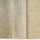 微塵格子の美麻織物 質感・風合