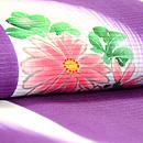 刷毛目ぼかしに花の図小紋 質感・風合