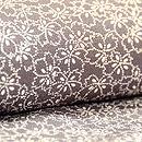 桜文江戸小紋袷小菊の裾模様 質感・風合
