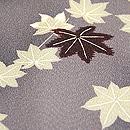 紅葉散らし小紋 質感・風合