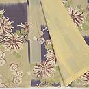菊と梅のレトロ小紋 上前
