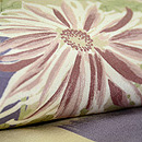 菊と梅のレトロ小紋 質感・風合