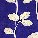 江戸茶地蔦の図羽織 質感・風合