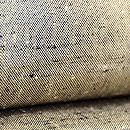 練色と黒ざざんざ織り反物 質感・風合