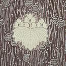 松葉に梅の江戸小紋 桐の染紋