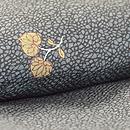 江戸小紋に葵の袷 上前