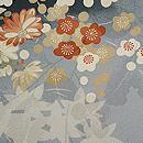 梅に菊、もみじの羽織 質感・風合
