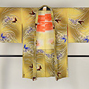 蘭に蝶々模様羽織 正面