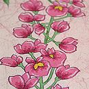 藤の花房模様小紋 質感・風合