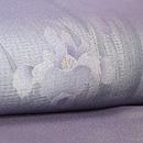 菖蒲の図紗袷付下 質感・風合