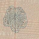 野の花模様単衣付下訪問着 背紋