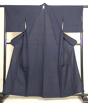 蚊絣綿薩摩単衣