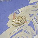 カタツムリに撫子の図単衣付下 質感・風合