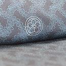 竹に雀刺繍縮緬江戸褄 質感・風合・紋