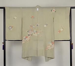 花筏の単衣羽織