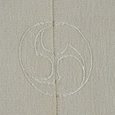 花筏の単衣羽織 背紋