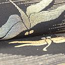 蜻蛉のお召し単衣小紋 質感・風合