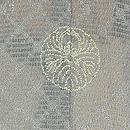 縦縞に燕の羽織 質感・風合