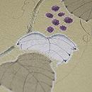 葡萄の図絞り単衣訪問着 質感・風合