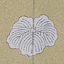 葡萄の図絞り単衣訪問着 背紋