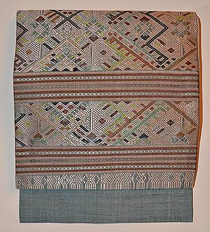 ラオス浮織名古屋帯