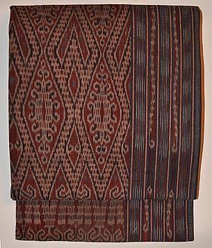 カリマンタン織り文様名古屋帯