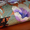 花籠文刺繍名古屋帯 質感・風合