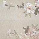 八重桜刺繍開き名古屋帯 前中心