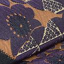 桜文様織袋帯 質感・風合
