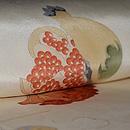 ボタニカルアート調植物の図名古屋帯 質感・風合