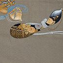 瓢箪の図刺繍付帯 前中心