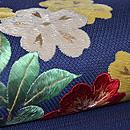 桜草刺繍名古屋帯 質感・風合