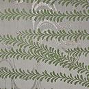 枝垂れ柳にツバメの図開き名古屋帯 前中心