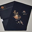 海松貝刺繍絽綴れ帯 帯裏