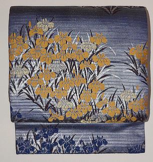 菖蒲の丸帯