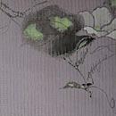 垣根にへちまの花絽名古屋帯 前中心