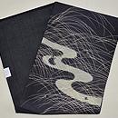 ホタルの図絽刺繍名古屋帯 帯裏