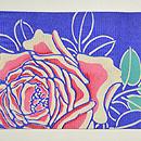 薔薇の名古屋帯 前中心