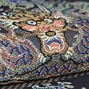 紗地龍の刺繍袋帯 質感・風合