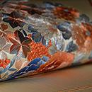 花束の刺繍帯 質感・風合